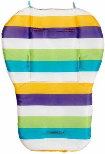 Siège Liners Rainbow Imperméable Doublure Tapis Coussin Pad Bébé Poussette Chaise Haute UK
