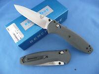 Benchmade 580-2 Barrage Knife Gray G-10 Assisted Opener S30v