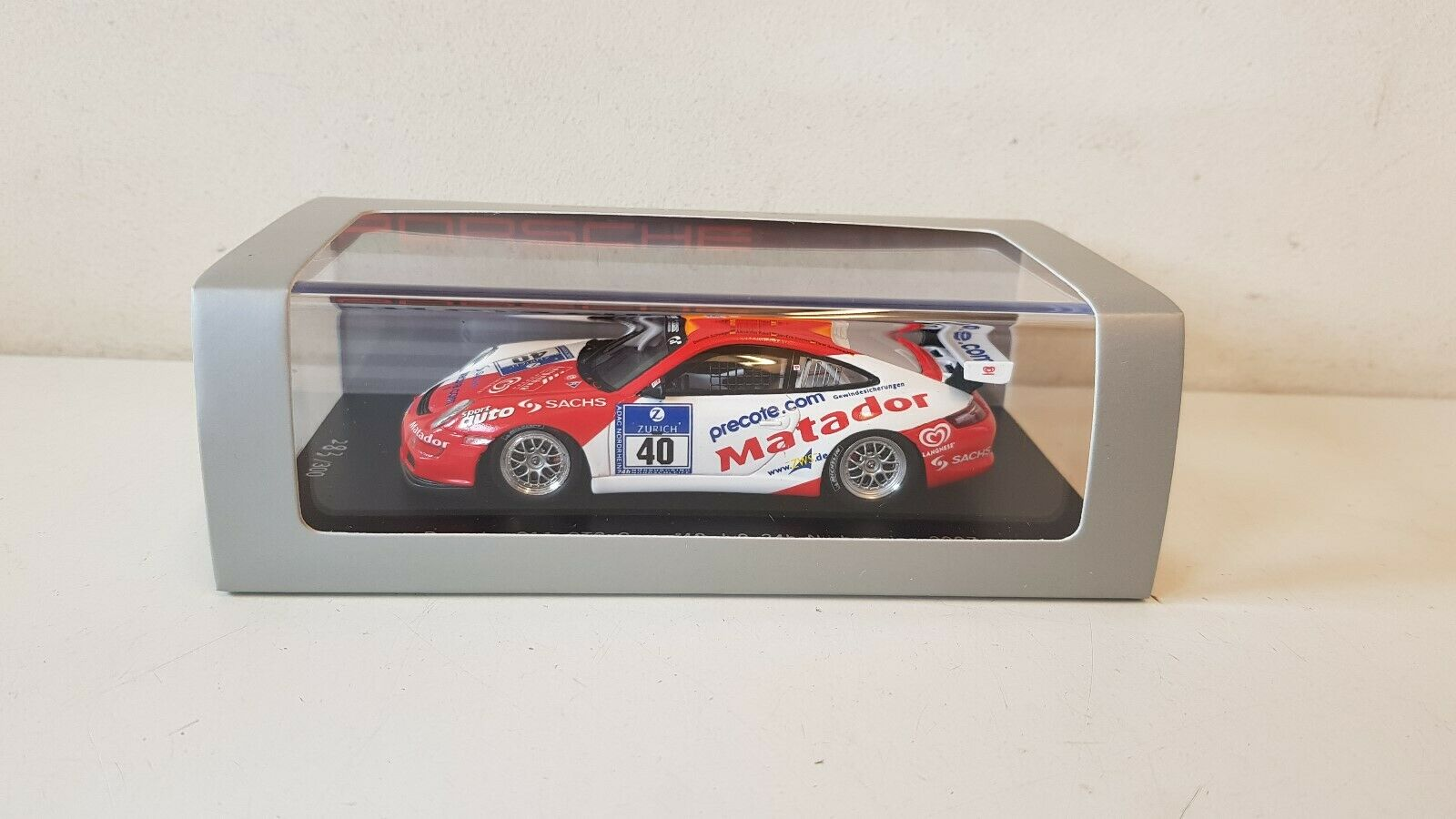Spark-Porsche 911 GT3 Cup  40 JvO 24 H Nurburgring 2007 1 43