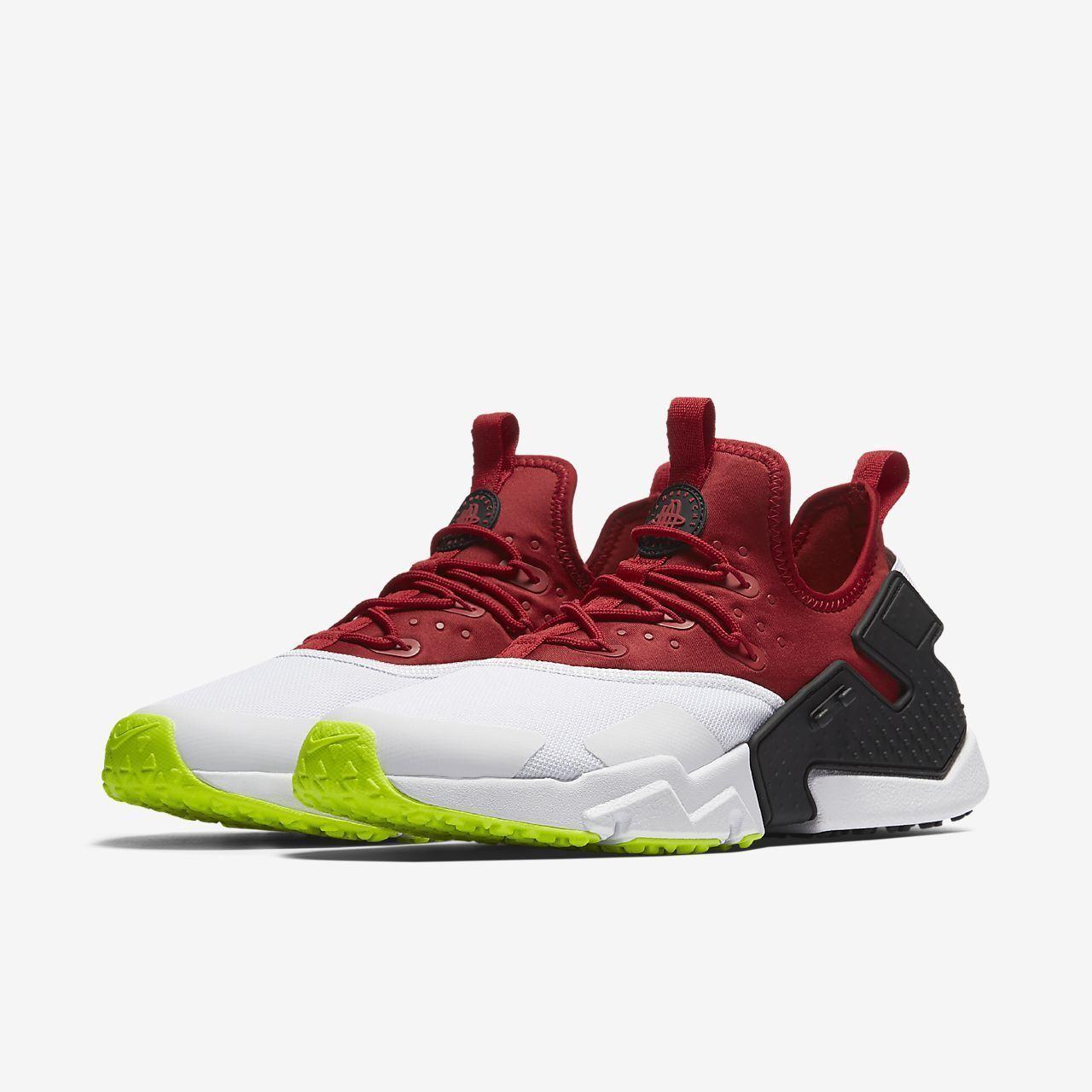 Nike Air Huarache Run Drift Red AH7334 601 Mens Size 11.5  Vapormax Prm QS Japan