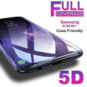 Genuine-Tempered-Glass-Screen-Protector-Samsung-Galaxy-S9-S8-Plus-Note-9-8