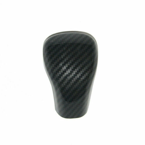ABS Gear Shift Knob Cover Trim Carbon Fiber Style For Toyota Camry 2018-2020