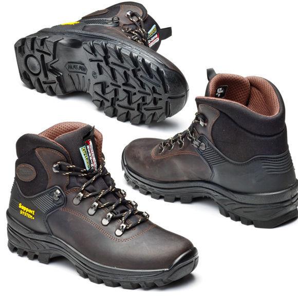 Globe Motley Mid marron Gum Fourrure Matelassée Hiver Chaussures Homme Skate Chaussures