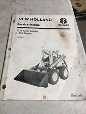 Service Manual New Holland L550 Skid Steer