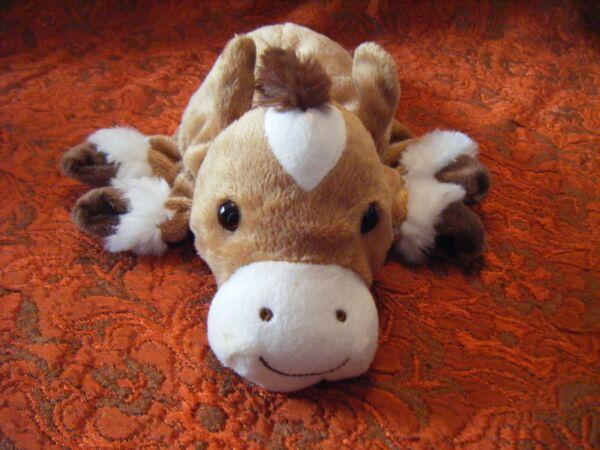 """Capable Dream Brown & White Horse Marionnette à Main 10"""" Environ Très Bon état (b14)"""