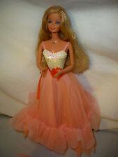 1980's Barbie Doll Peaches 'n Cream Barbie doll no shoes no box no stand