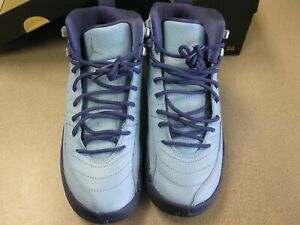the best attitude ae6ff 29bdd Image is loading Nike-Air-Jordan-Retro-XII-12-Hornets-PurplE-
