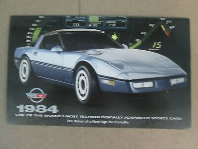 Franklin Mint Brochure Chevy Corvettes Silver Proof Ingot Collection
