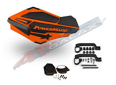 Powermadd Sentinel Handguards Orange//Black 34405