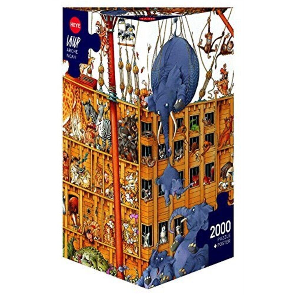 2000 Piece Noah's Ark Jigsaw Puzzle - Puzzle Loup Noahs Heye Arche Hy25475