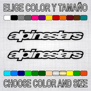 Vinilo-adhesivo-ALPINESTARS-2-unidades-pegatina-logo-sticker-moto-decal