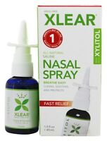Xlear Sinus Nasal Spray With Xylitol 1.5 Oz Gently Cleans, Soothes, Protects