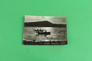 CARTOLINA-LAGO-DI-VICO-CONTROLUCE-CAPRAROLA-Barche-di-pescatori-1967-CAR-075