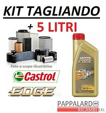 KIT FILTRI TAGLIANDO + OLIO CASTROL AUDI TT (8J) 2.0 TDI 125KW 170CV DAL 2008