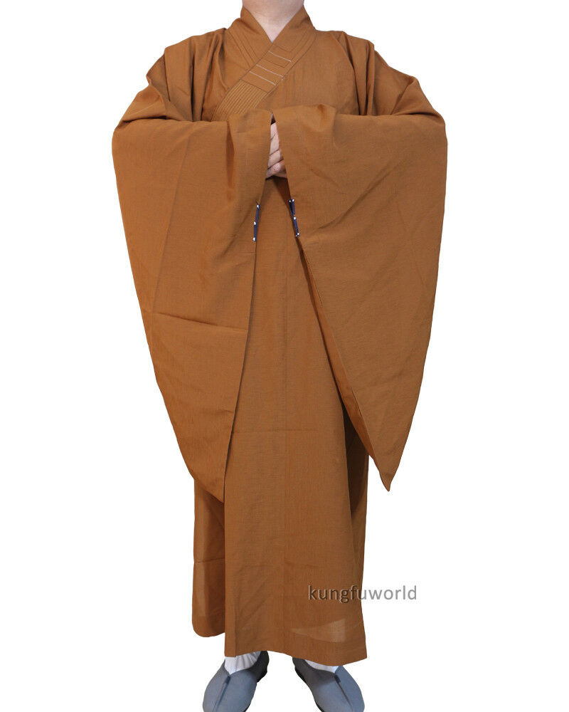 High Quality Buddhist Monk Dress Haiqing Robe Meditation Suit Zen Clothes