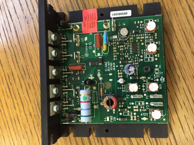 KB Electronics KBIC-120 DC motor control 9429 upc 024822094290 6A 1//2HP