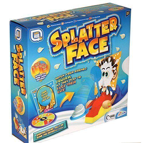 SPLATTER FACE CREAM PIE GAME ACTIVITY KIDS FUN CHILDRENS PRESENT PARTY FAMILY