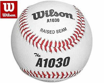 Gehorsam Wilson A1030 Official Liga Narbenleder Baseball Ball Bälle
