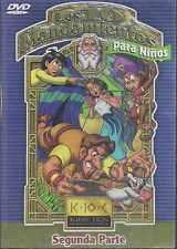 DVD  - Los 10 Mandamientos Para Ninos Segunda Parte NEW FAST SHIPPING !