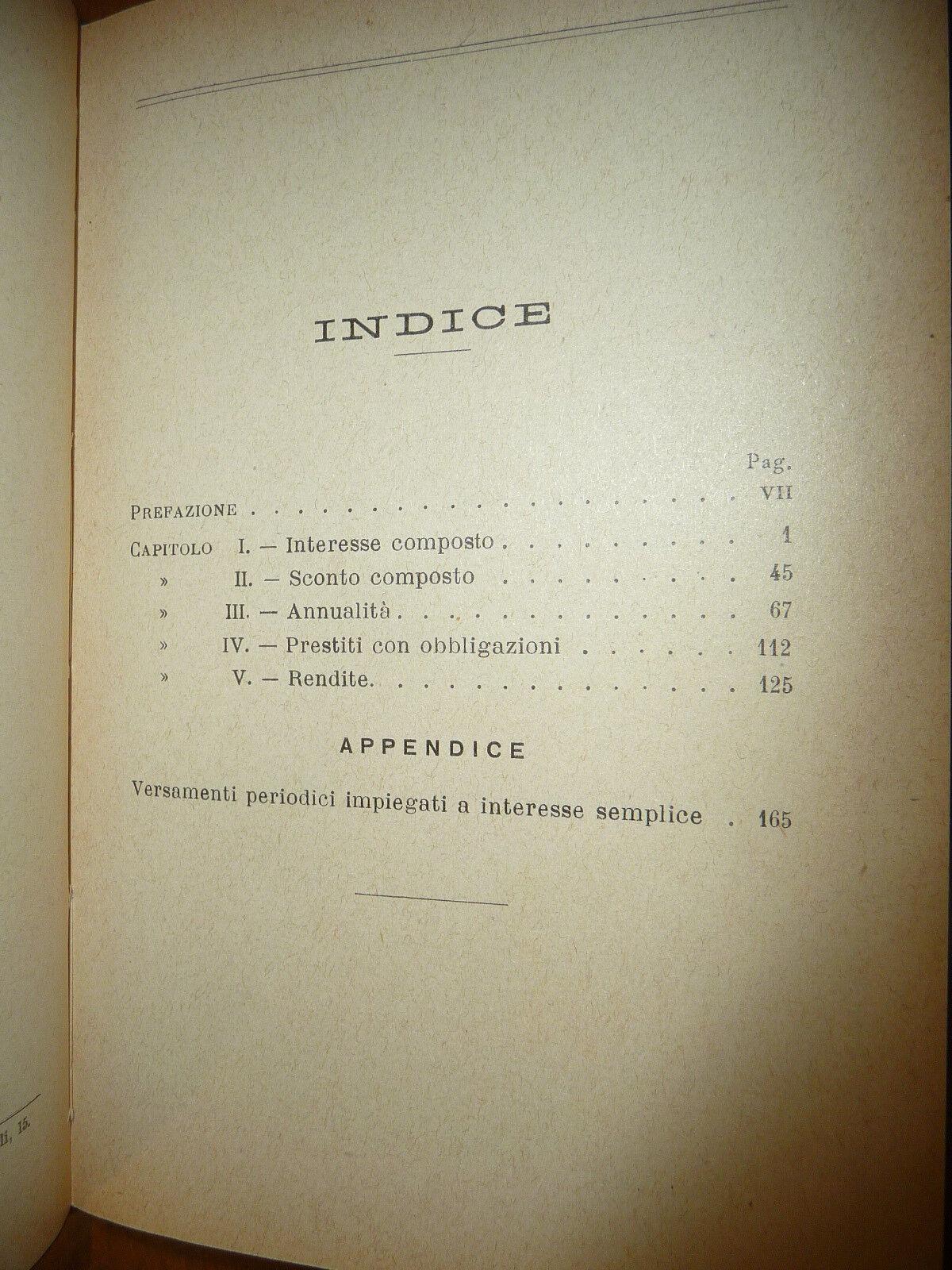 COMPUTISTERIA COMPUTISTERIA FINANZIARIA PROF. VINCENZO GITTI Vol II HOEPLI 1923