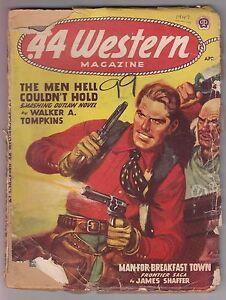 44-Western-April-1947-Pulp-Wayne-D-Overholser-Walker-A-Tompkins-James-Shaffer