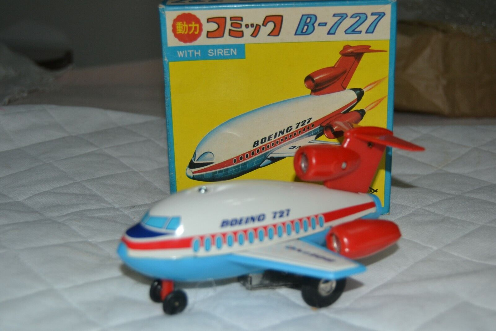 Tin toy Boeing B-727 Daiya Daiya Japan