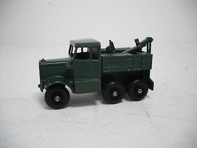 Matchbox Lesney 64 a Scammel Army Tow Truck empty Repro B style Box