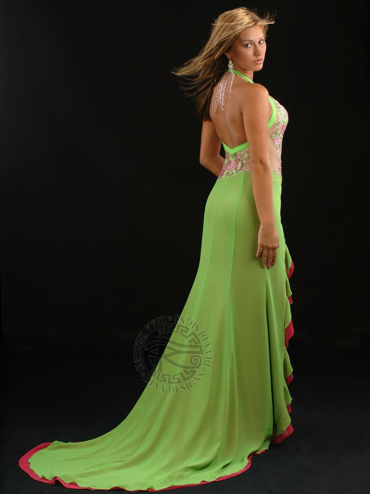 Diaa Designs D175   Couture Designer Fashion Gowns
