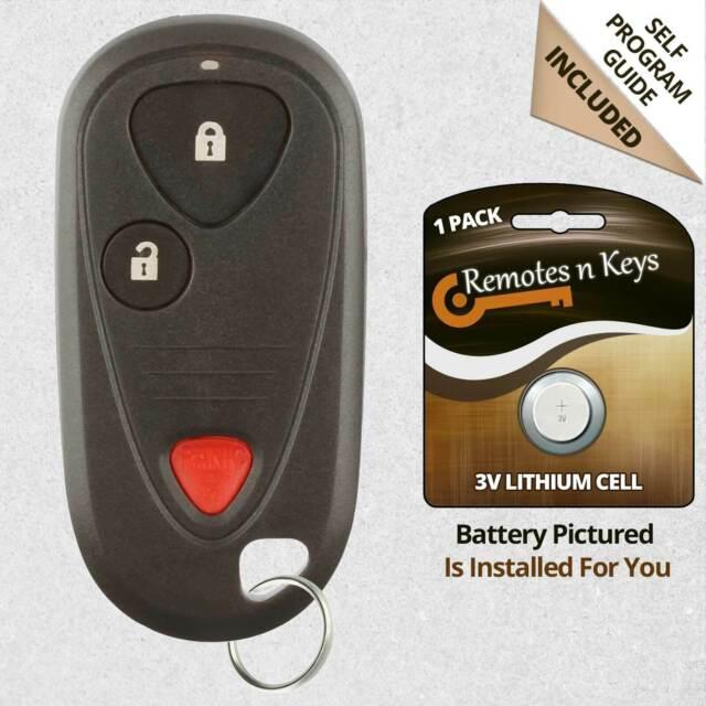 Car Transmitter Alarm Remote Key Fob Control For 2006