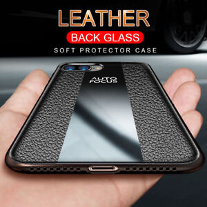 For-Huawei-Mate-20-Pro-Lite-Luxury-Business-Leather-Hybrid-Glass-Soft-Case-Cover