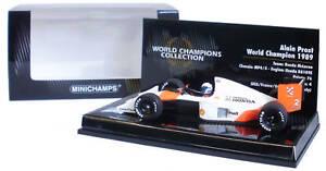 Minichamps Mclaren Mp4 / 5 1989 - Alain Prost Champion du Monde 1/43 sur 4012138083363