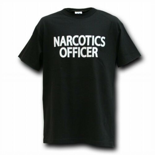 NARCOTICS OFFICER POLICE T-SHIRT T-SHIRTS SHIRT 4 SZS
