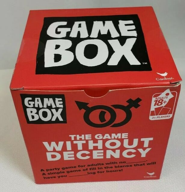 Cardinal The Game Without Decency Board Card Game Box Brand New Sealed For Sale Online