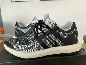 online shop footwear look for Details about Used Adidas Y-3 Pure Boost Oreo ZG Primeknit Sz 10.5 CP9888  PureBoost Knit Y3