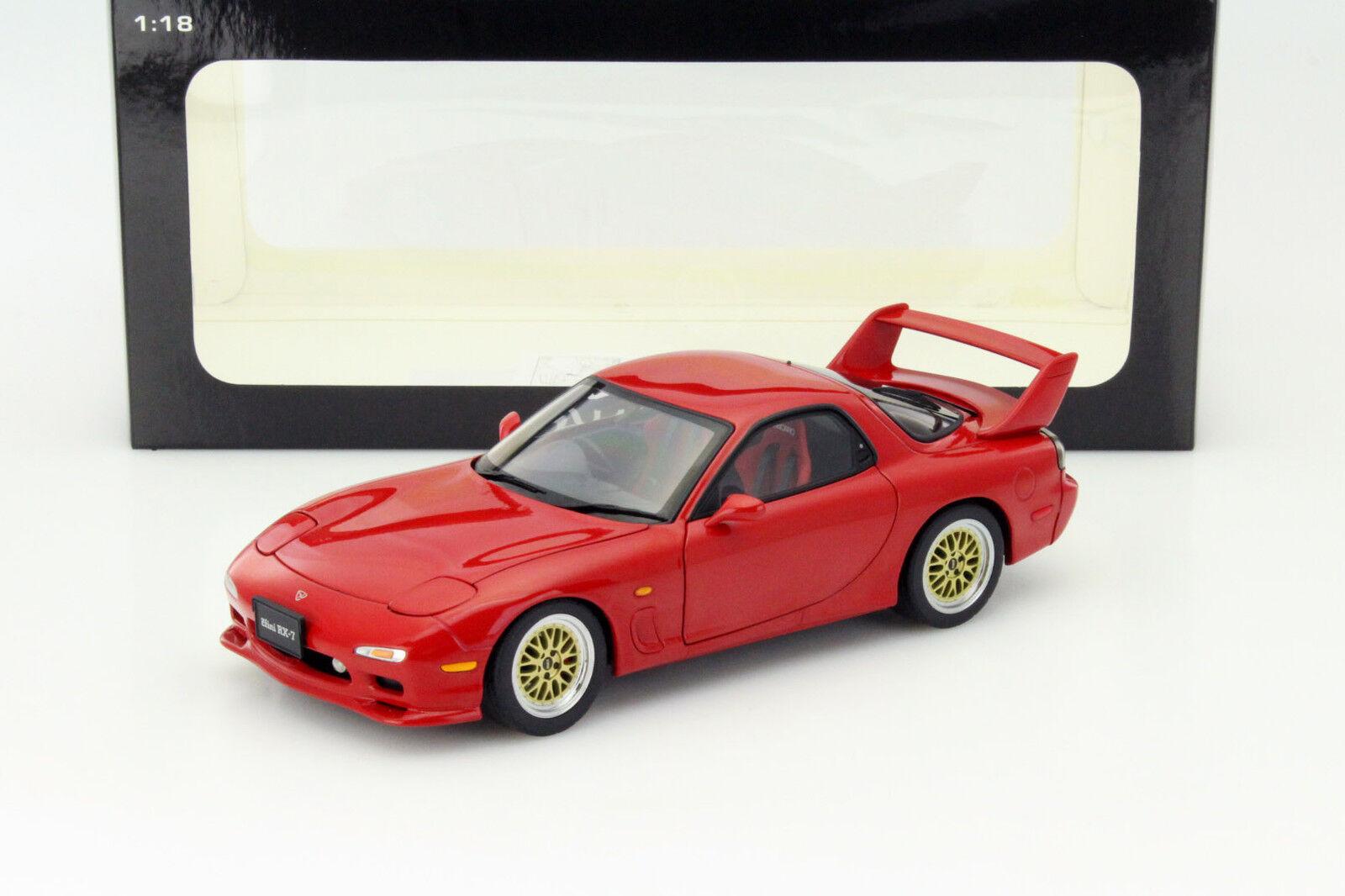compra meglio MAZDA Efini rx-7 (FD) tuned versione anno di costruzione costruzione costruzione 1991 ROSSO 1 18 Autoart  sconto prezzo basso