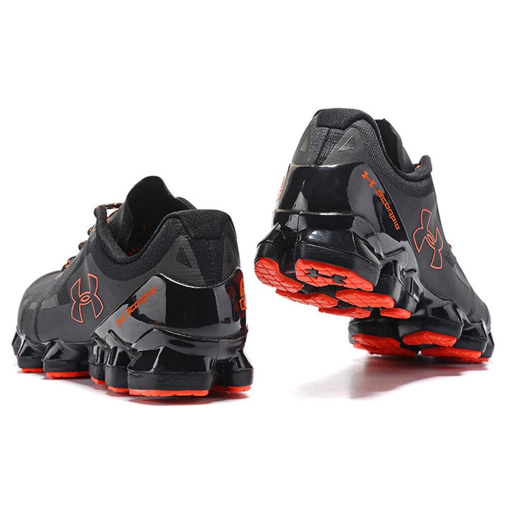 6870e2ee9bb Men s Under Armour Mens Mens Mens UA Scorpio Running Shoes Fashion Black Red  Leisure Shoes