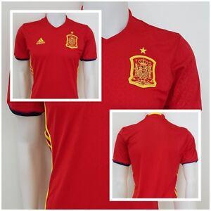 wholesale dealer feb9a 266e0 Das Bild wird geladen adidas-Spanien-Spain-Trikot-Shirt-Jersey-Fussball-WM-