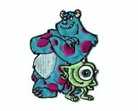 Monsters Inc Mike And Sully Disney Embroidered Iron On / Sew On Patch