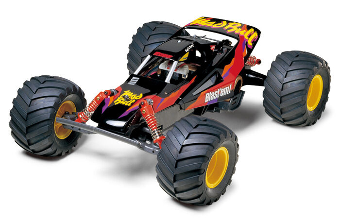 Tamiya 58205 Mad Bull Radio Control RC Kit  (CAR WITHOUT ESC)