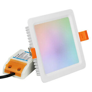 MI-LIGHT-DOWNLIGHT-QUADRATA-LED-9W-720LM-RGB-CCT-WIFI-FUT064-LAMPADA-DA-INCASSO