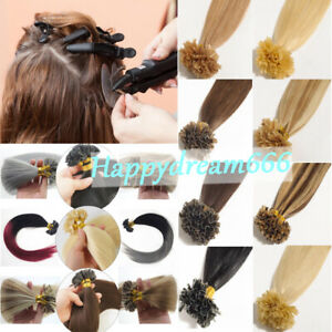 50-100-EXTENSIONS-de-cheveux-Humains-KeRATINE-A-CHAUD-100-NATURELS-REMY-7A-1G