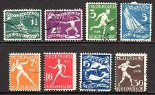 Netherlands - 1928 Olympic games Amsterdam Mi. 205-12 VFU