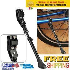 Bicycle Aluminum Single Leg Kickstand 22/'/'-27/'/' Mountain Bike Parking Rack Stand