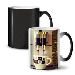 Coffee Time Espresso Food NEW Colour Changing Tea Coffee Mug 11 oz   Wellcoda