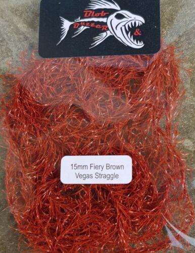 15mm Fiery Brown Vegas Straggle