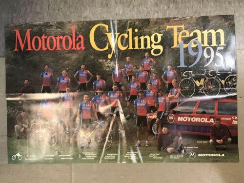 TOUR DE FRANCE TEAM POSTER 1995 TEAM MOTOROLA