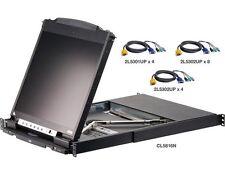 Aten CL5816NcKit 16-Port Dual Rail LCD KVM Switch with Kit