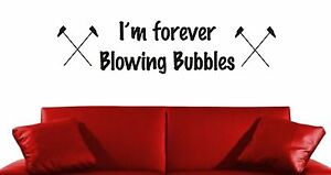 Metal Sign I/'m forever blowing bubbles West Ham football song fridge wall plaque