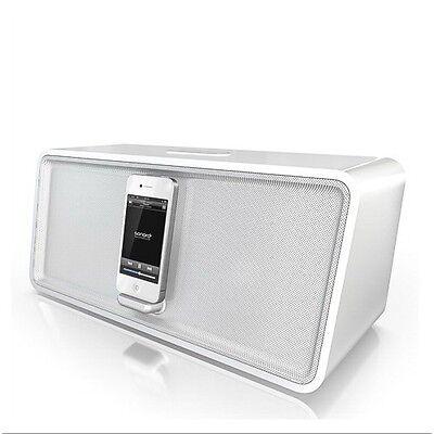 Sonoro AU-7000 CuboDock weiß / weiß - Dockingstation mit Bluetooth