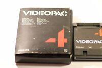 VINTAGE PHILIPS G7000 CONSOLE COMPUTER VIDEOPAC 4 AIR-SEA WAR BATTLE GAME 1980